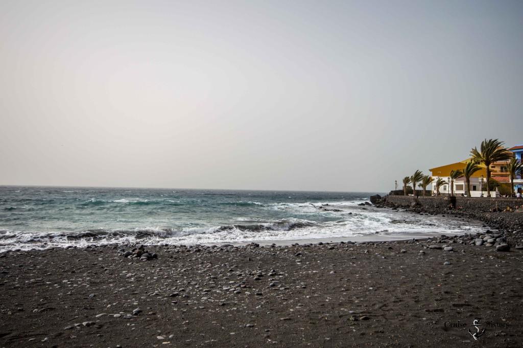 Der Strand von Valle Gran Rey auf La Gomera