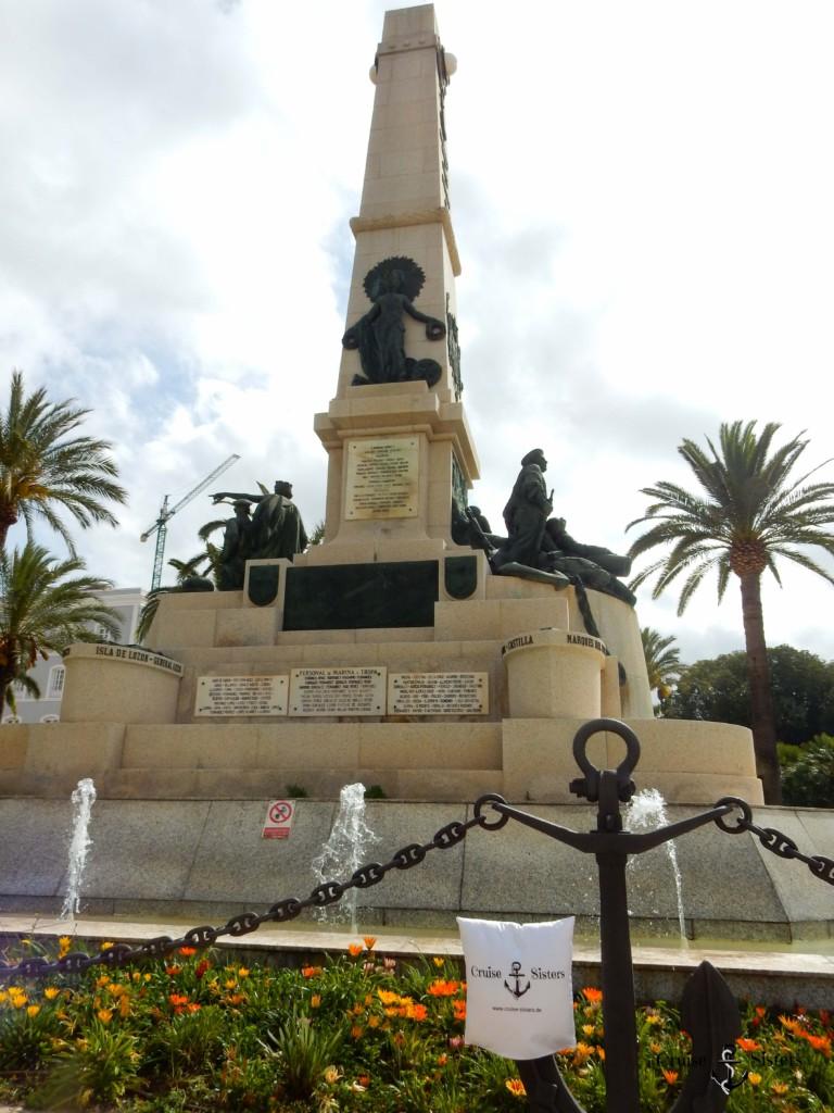 Statue als Denkmal in Cartagena