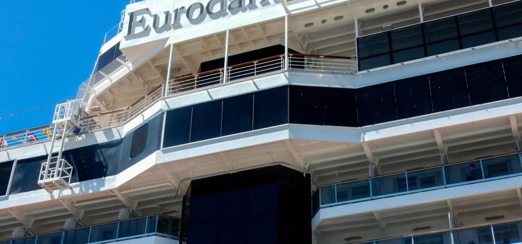 Das Kreuzfahrtschiff MS Eurodam