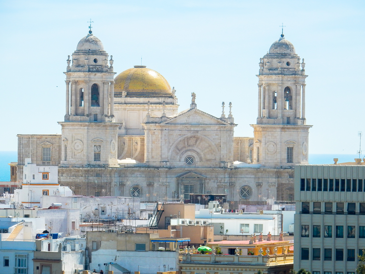 Cathedral with the Golden Dome Cádiz