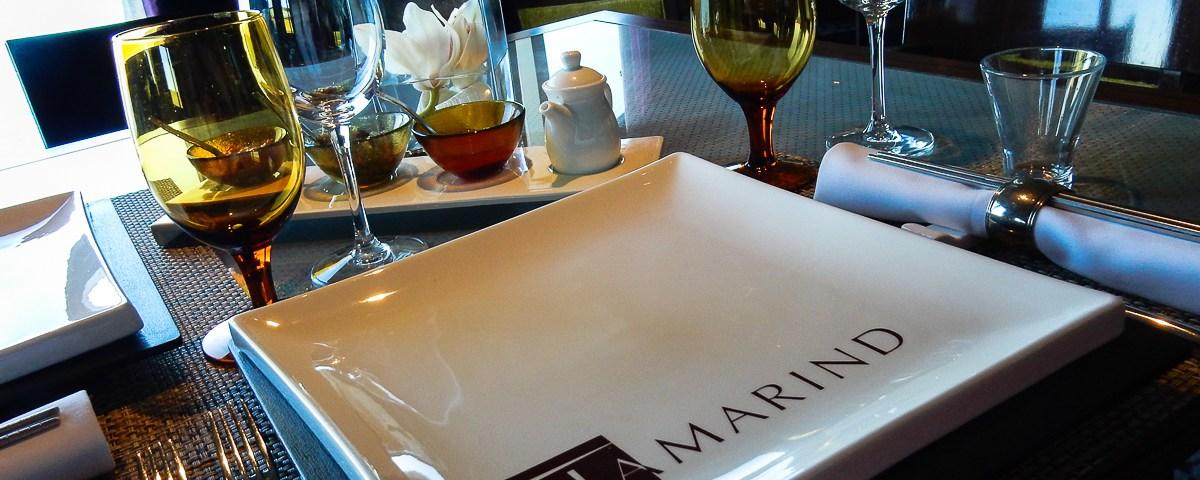 The Tamarind Restaurant aboard the Eurodam