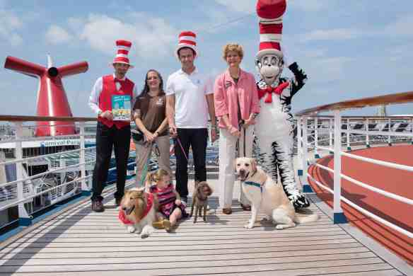 Carnival Cruise Line and Tampa Bay Rays all-star Evan Longoria celebrate release of new Dr. Seuss book
