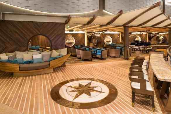 Schooner Bar - Deck 6 Midship Portside Harmony of the Seas - Royal Caribbean International