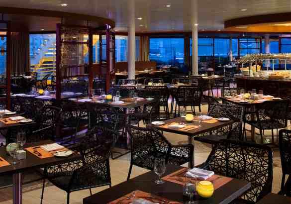 Solarium Bistro - Deck 15 Forward Harmony of the Seas - Royal Caribbean International