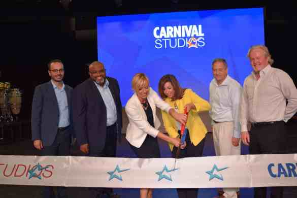 Carnival Cruise Line Unveils 'Carnival Studios' | 29