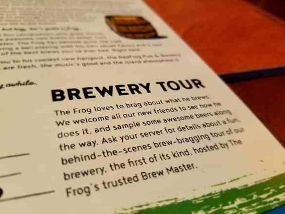 You can take a Brewery Tour when onboard the Carnival Horizon or Vista.