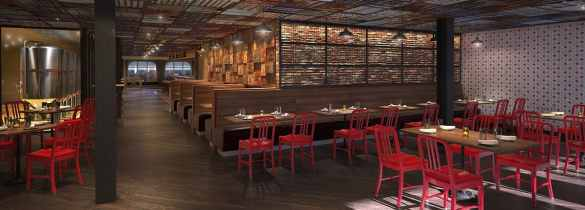 Renderings of Guy's Pig & Anchor Bar-B-Que Smokehouse|Brewhouse.