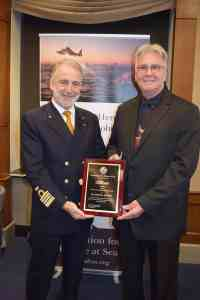 Carnival Elation Captain and Crew Recognized with AFRAS Humanitarian Assistance Award | 8