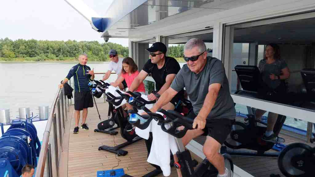 Spin class on AmaMagna
