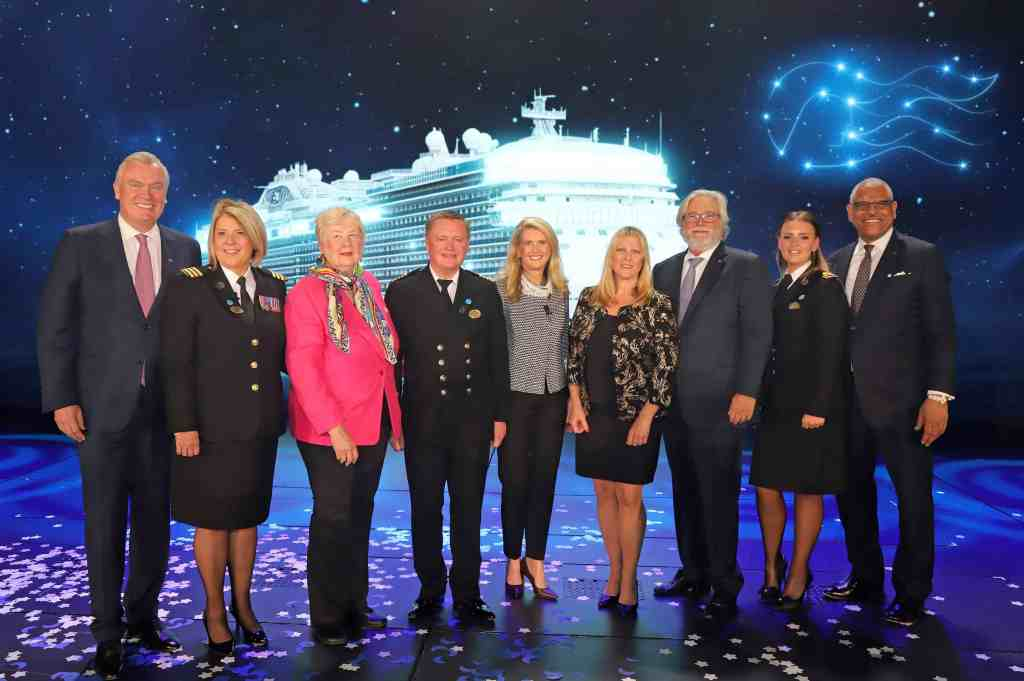 Sky Princess Naming Ceremony