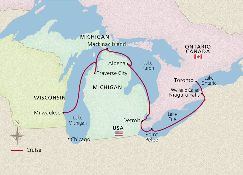 Niagara & The Great Lakes