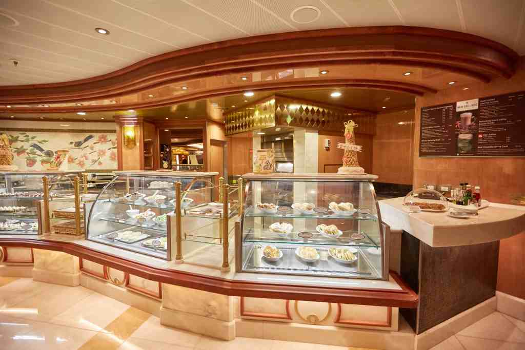 Princess Cruises' International Café