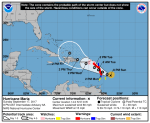 Hurricane Maria Forces Carnival and Royal Caribbean to Alter Cruise Itineraries
