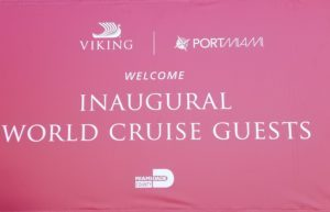 Viking Sun Sets Sail On First World Cruise