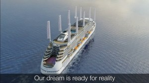New Cruise Ship Will Have Retractable Sails, Wind Generators, and Solar Panels