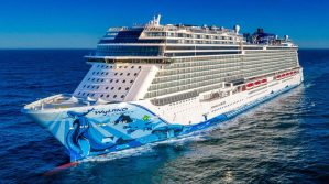 Norwegian Cruise Line Takes Delivery of Their Newest Ship, Norwegian Bliss