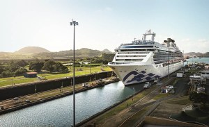 Cruise Line Announces Most Cruises Ever to Panama Canal