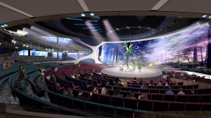 Celebrity Cruises Unveils Their Most Technologically Advanced Theater