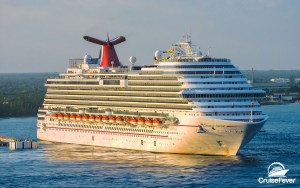 Carnival Cruise Line Offering 2 for 1 Deposits on Future Cruises