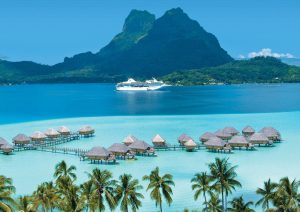 Cruise Line Releases Details on 2019 Cruises to Bora Bora, Tahiti, and Fiji