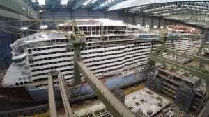 Construction Update on Royal Caribbean's Next New Cruise Ship