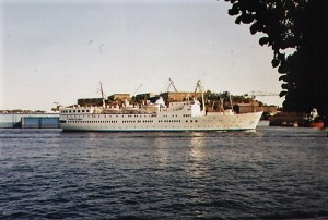 Ånedin Linjen - Baltic Star (2) - summer 1987 Stockholm