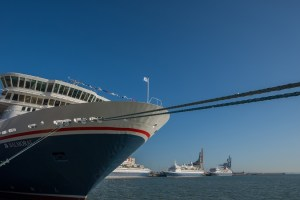 Captains in Cadiz - Flottentreffen von Fred. Olsen Cruise Lines