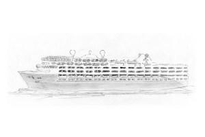 Havila Kystruten - Neubau - Zeichnung