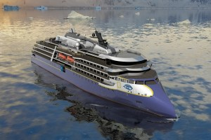 Lindblad Expeditions X-bow ship