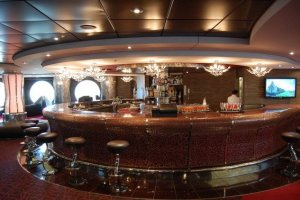 MSC Splendida - The Aft Lounge