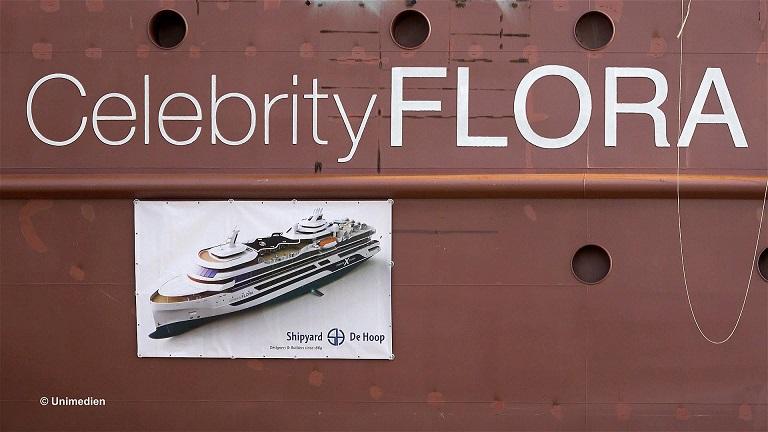 Celebrity-Flora-3 Stapellauf der CELEBRITY FLORA