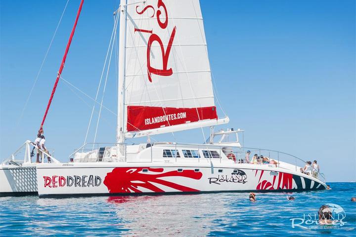 Red Dread Catamaran