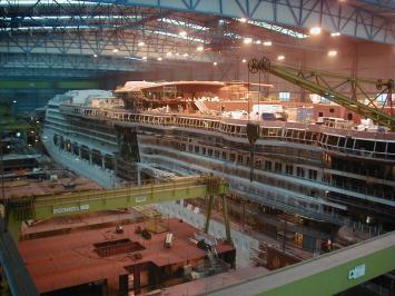 Afbeeldingsresultaat voor Radiance of the Seas construction