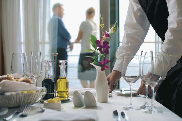 Silversea room service