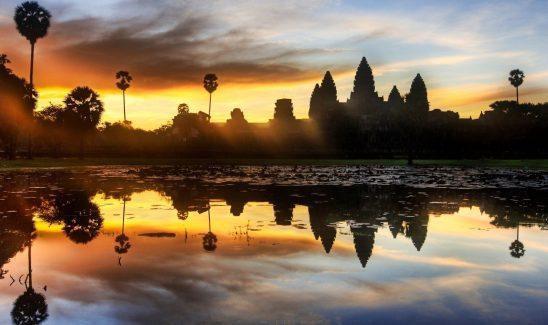 Angkor tempelkompleks i Cambodia