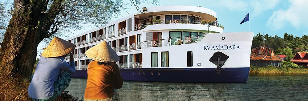 Vores deluxe rederier byder også på AmaDara skibet på Mekong floden