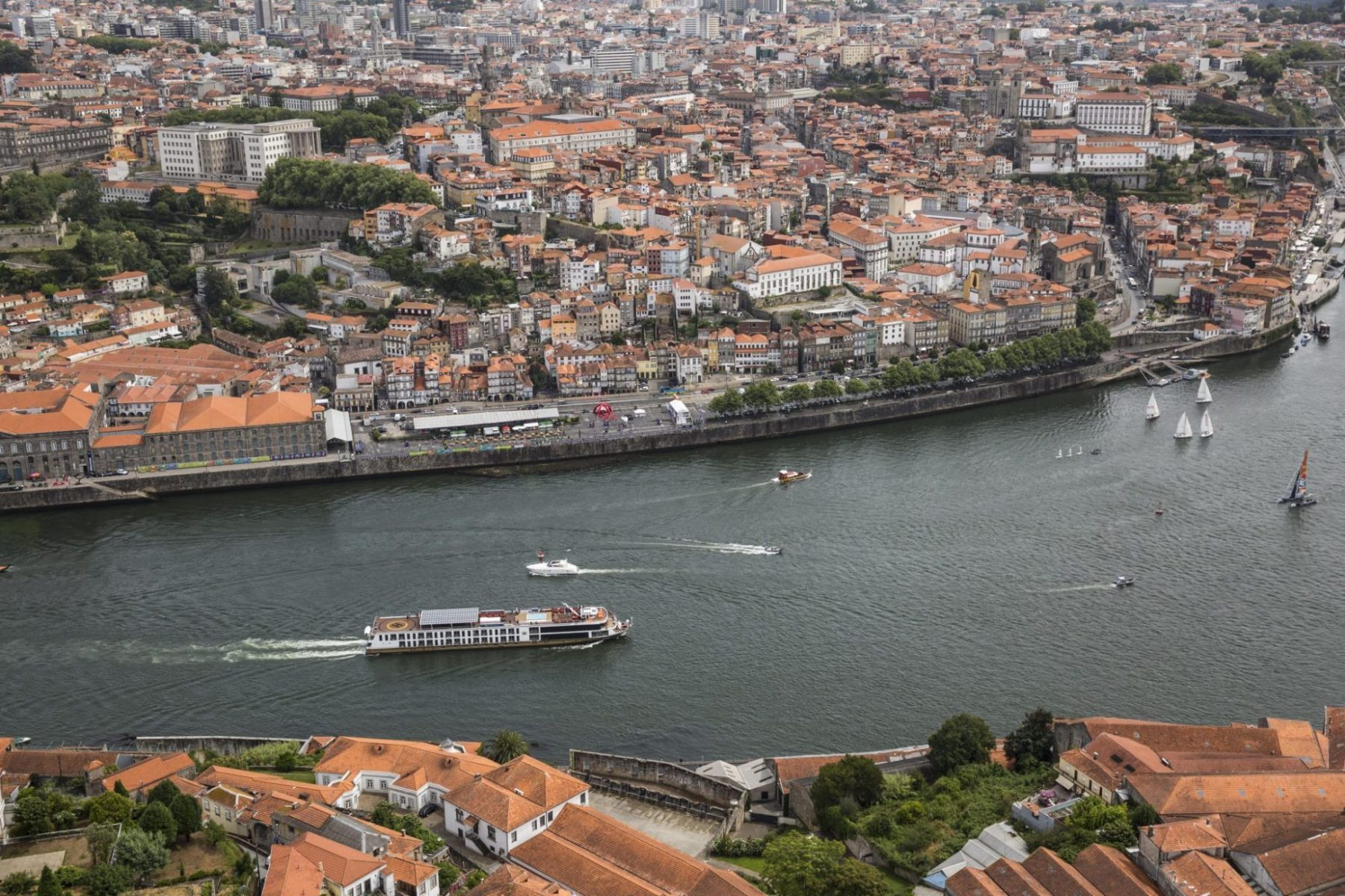 Ama Waterways flod cruise på Douro Floden i Portugal