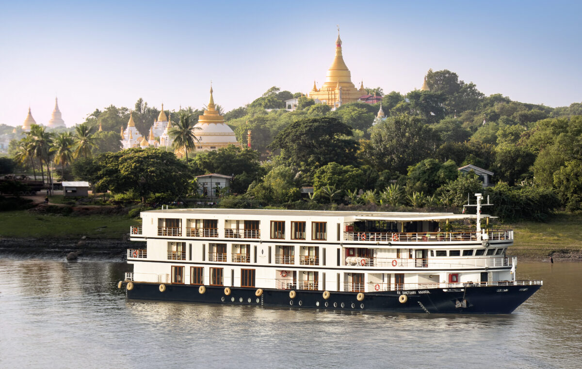 Sanctuary Retreats har 8 flod cruise skibe