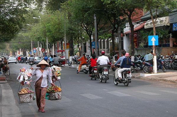 Ho Chi Minh City daglige byliv