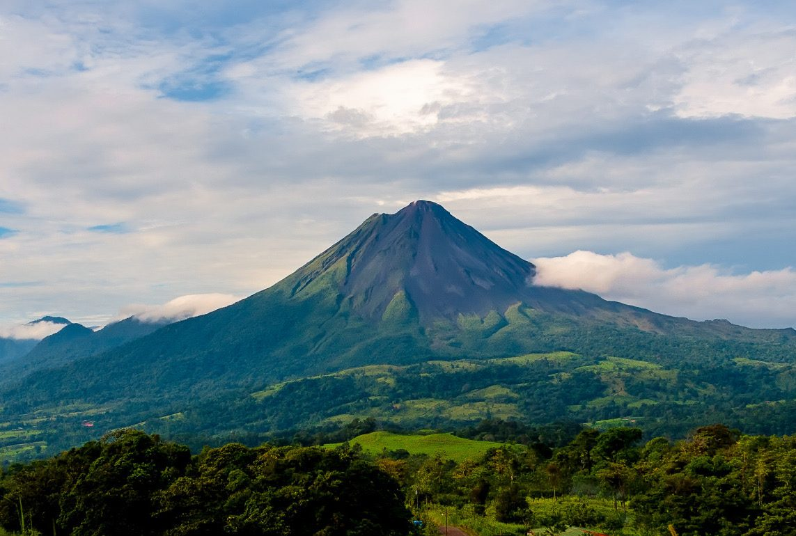 Arenal National Park i Costa Rica