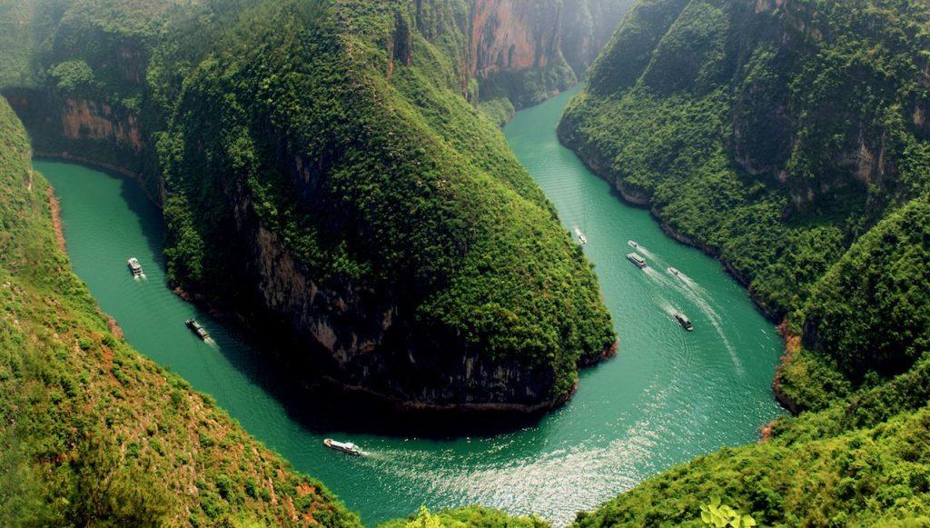 Yangtze Floden i Kina