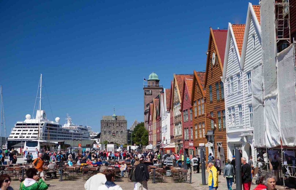 Bergen i Norge