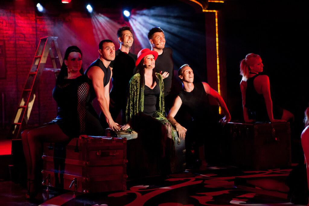 Aftenunderholdning i ren Broadway stil