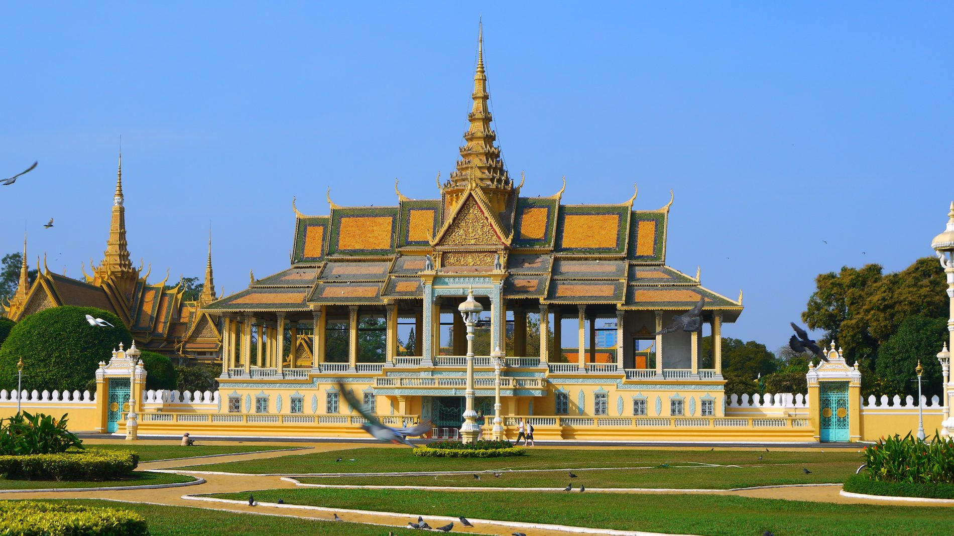 Det Kongelige Palads i Phnom Penh