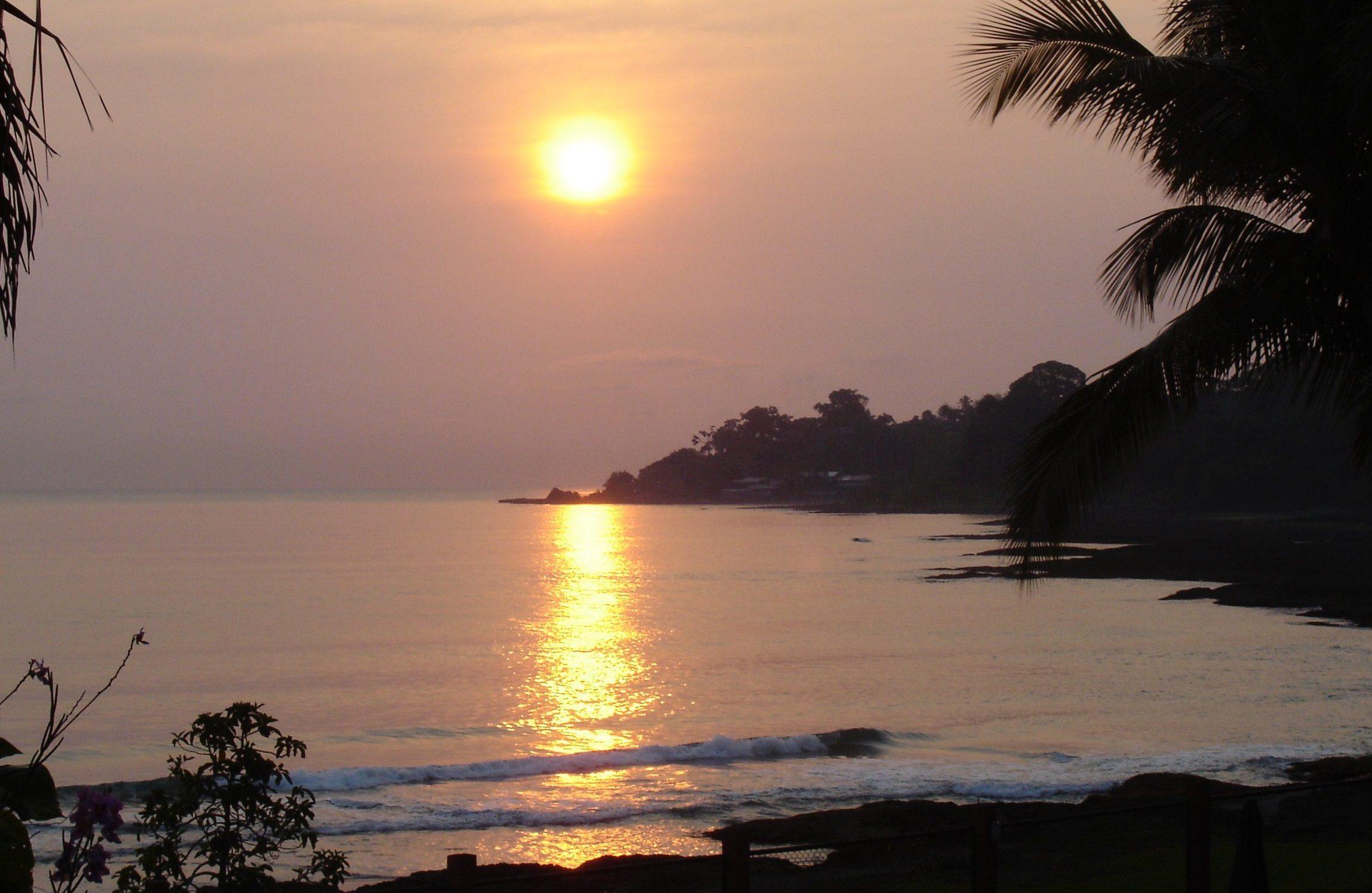 Costa Ricas solnedgange er nogle af de smukkeste
