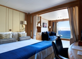 Windstar Cruises Ocean View standard suite