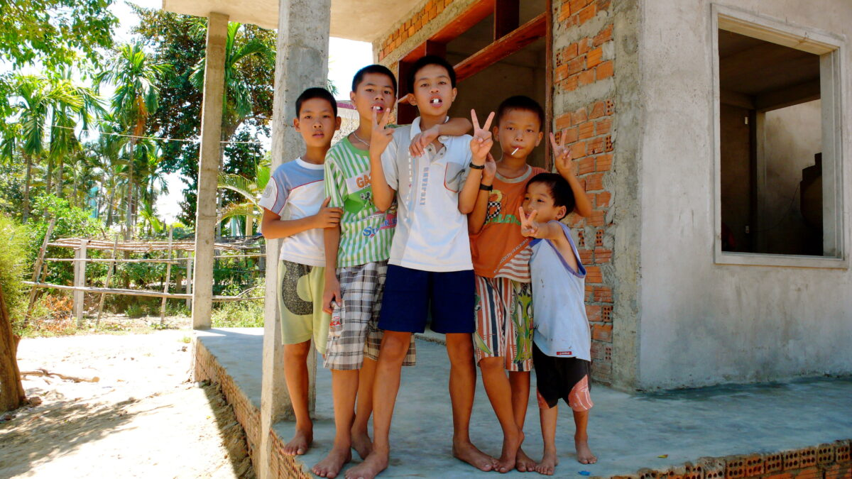Smilende og imødekommende befolkning