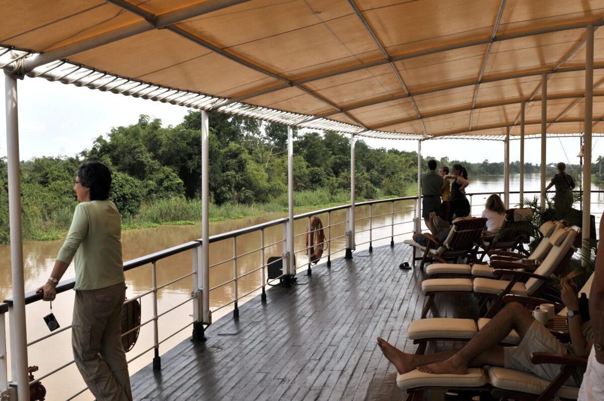 Indtag Mekong Floden i Cambodia og Vietnam