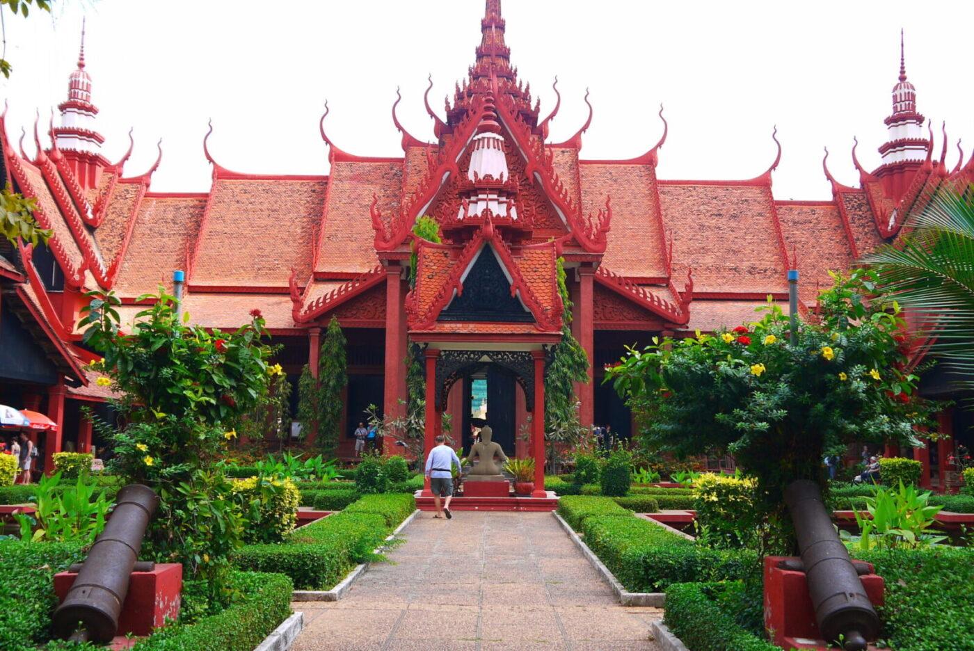 Oplev Royale Palads i Cambodia