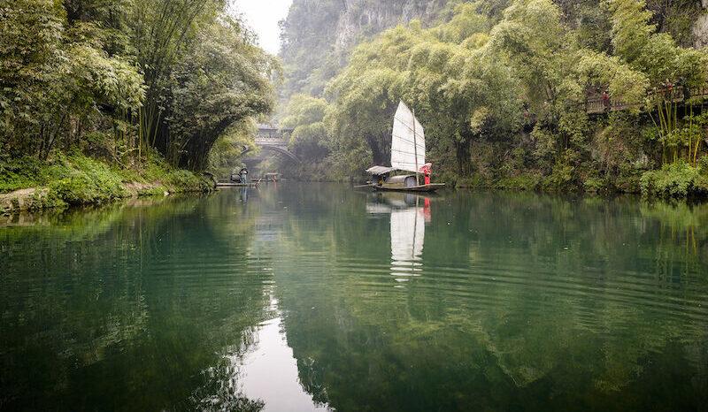 Yangtze floden er som taget ud af en drøm